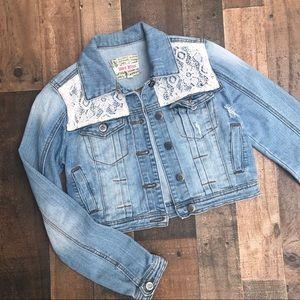 Lace Jean Jacket 🎉